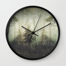 wonders and mysteries Wall Clock