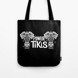 Power to the Tikis Tote Bag