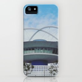 Los Angeles Arrival - LAX Theme Populuxe Architecture (Googie) iPhone Case