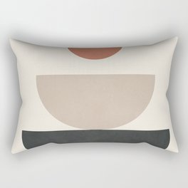 Geometric Modern Art 30 Rectangular Pillow