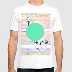 Horse, horse. White Mens Fitted Tee MEDIUM