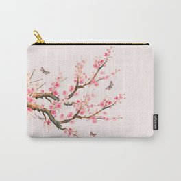 Pink Cherry Blossom Dream Carry-All Pouch
