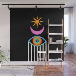 Summer Totem Wall Mural