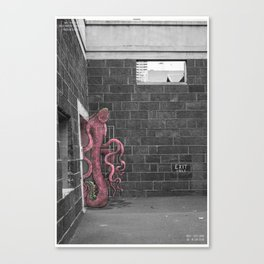 Unseen Monsters of Melbourne - Franken Muth Deluxe Canvas Print