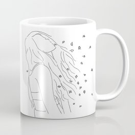 people like me gone forever when you say goodbye Coffee Mug