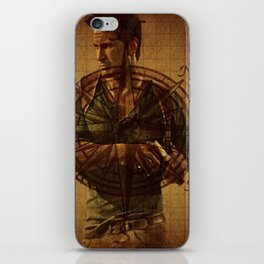 Compass of Uncharted Lands iPhone Skin