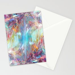 Abstract Marble 08 Stationery Cards