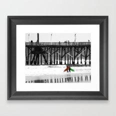 Surfing lifestyle    Framed Art Print