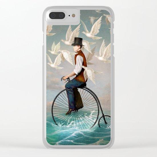 Ocean Ride Clear iPhone Case