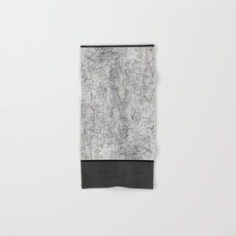 Rock the Casbah // concrete and paint colorblock collage Hand & Bath Towel