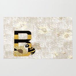 B for bee Rug