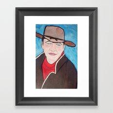 Young John Wayne Framed Art Print