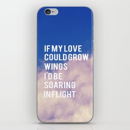 If My Love  iPhone Skin