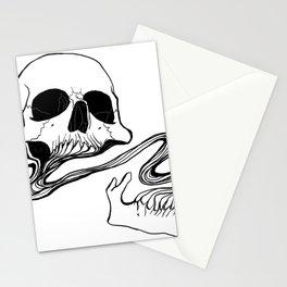 Skull (Grind) Stationery Cards