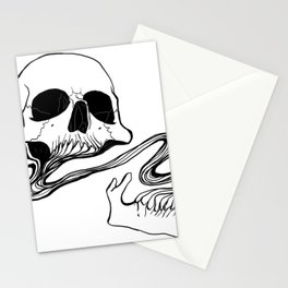 Skull (Grind) Stationery Cards