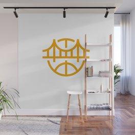 Golden State Basketball Wall Mural