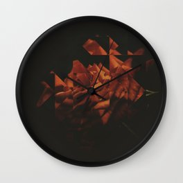 Fractions 18 Wall Clock
