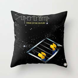 Supertramp - Crime of the Century but with Emmet Throw Pillow