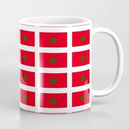 Flag of morocco -moroccan,Marruecos, Marroquí,rabat,casablanca. Coffee Mug