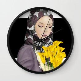 Beauty Muslimah Wall Clock