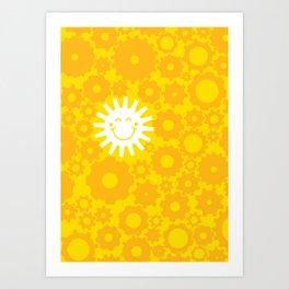 Sun Energy Art Print