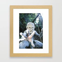 Papua New Guinea Ghost Framed Art Print