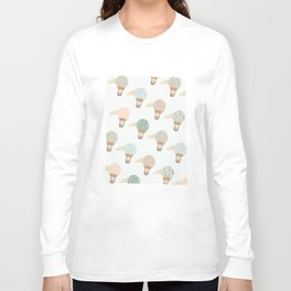 baloon collage pattern  Long Sleeve T-shirt