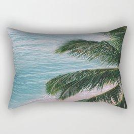 Palm Paradise Rectangular Pillow