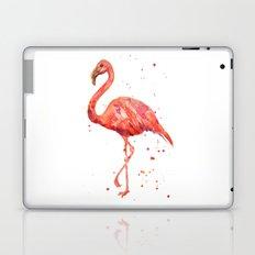 Flamingo, Pink Flamingo, Tropical, bird art, Florida Laptop & iPad Skin