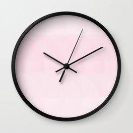 Strawberries ice cream Wall Clock
