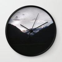 peru Wall Clocks featuring Wasi, Peru by Wiara