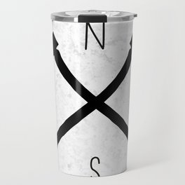 compass & axes Travel Mug