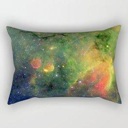 Galactic Snake in Infrared Milky Way Rectangular Pillow