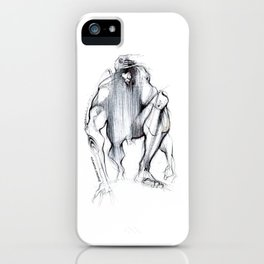 Futuristic Cyborg 1 iPhone Case
