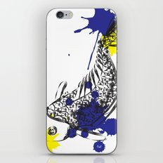 out fish iPhone & iPod Skin