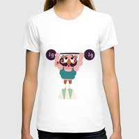 muscle T-shirts featuring Monsieur Muscle  by Geekygirl