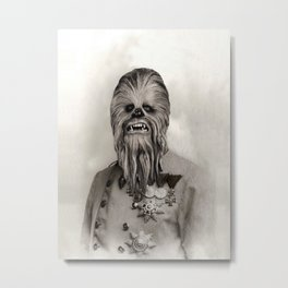 Uncle Chewie Metal Print