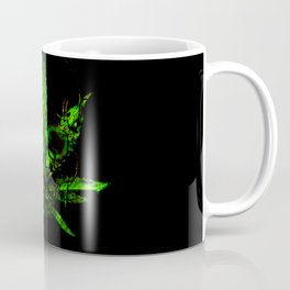 Pothead - Skull and Pot Plant Coffee Mug
