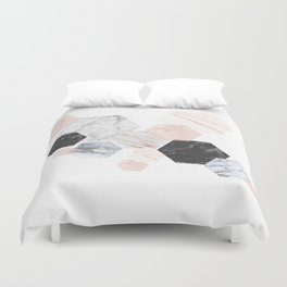 Lost in Marble Duvet Cover