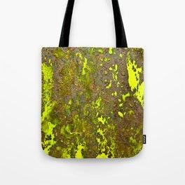 Yellow Rust Tote Bag