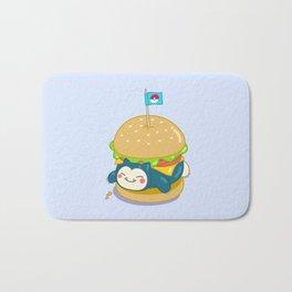Snorlax Burger Bath Mat