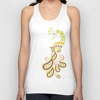 india Tank Tops featuring India by ASerpico Designs