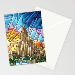 Asgard stained glass style Stationery Cards