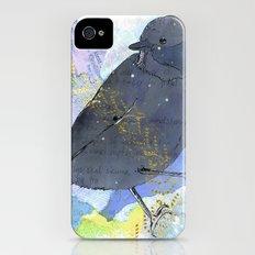 Vinter fugl Slim Case iPhone (4, 4s)