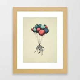 Muerte Desde El Cielo, II (El Tigre) Framed Art Print