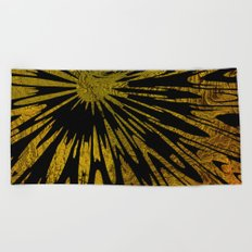 Native Tapestry in Gold Beach Towel