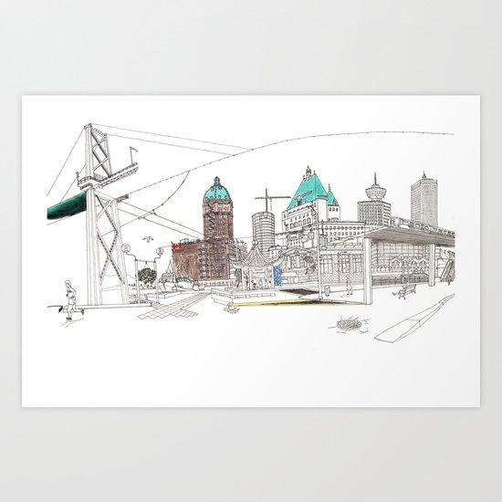 'CANADA' PART 2 OF 10* Art Print
