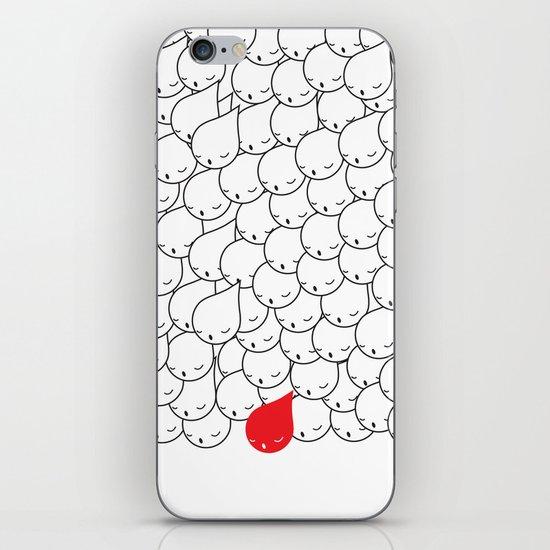 FOLLOW ME FOLLOW YOU iPhone & iPod Skin