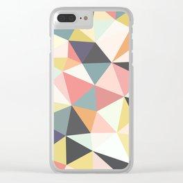 Deco Tris Clear iPhone Case