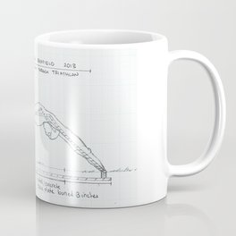 Go Drawing, Transitions through Triathlon Coffee Mug